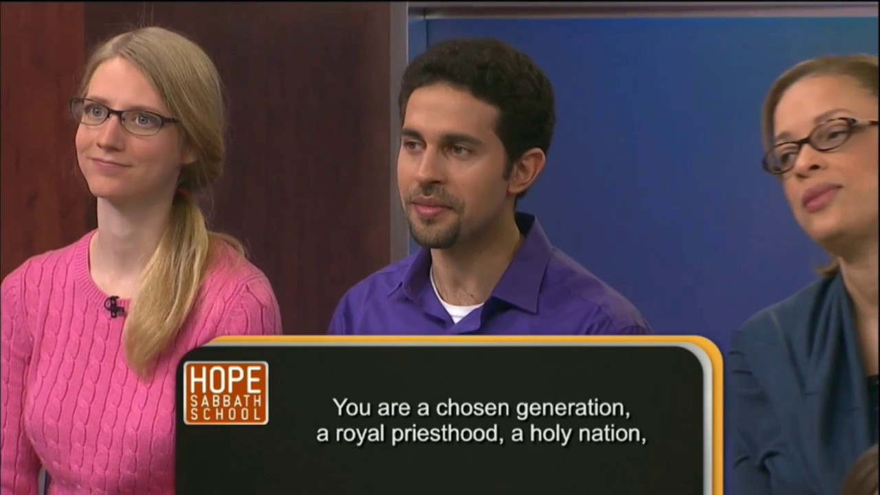 Hope Sabbath School Lesson 9 - Be Who You Are (2nd Qtr 2017)