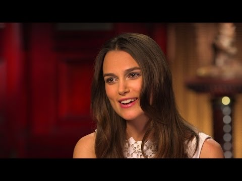 Keira Knightley explains a British slang phrase