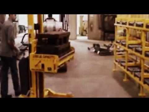 Titan Mold Cart 2731; 2000 lb CapacityMold or Die Cart