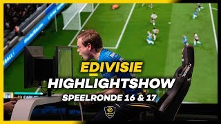 HIGHLIGHTSHOW | DE ZIEKSTE SPEELRONDE OOIT!!! | SPEELRONDE 16 en 17 I eDivisie 2019-2020 FIFA20