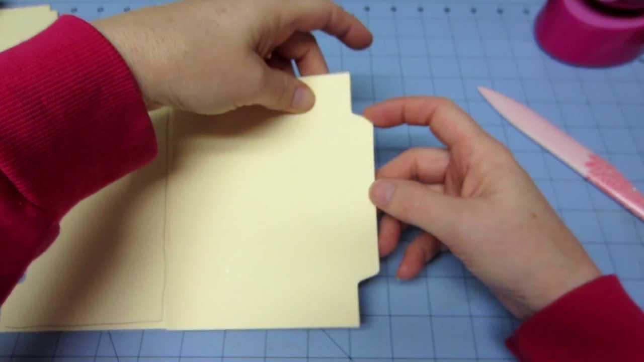 File Folder Mini Tutorial Part 1