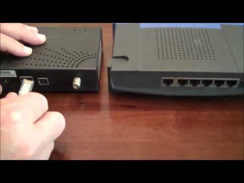 How to Connect a Cable modem to a Router