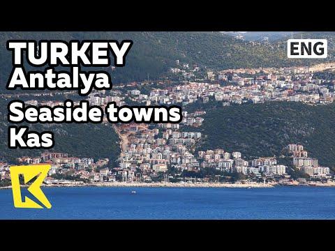 【K】Turkey Travel-Antalya[터키 여행-안탈리아]해안가 마을 카쉬/Kas/Coast/Fishing/Diving