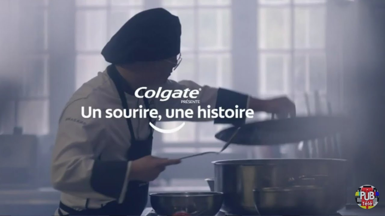 """Musique de la pub Colgate – un sourire une histoire """"je souris""""  Juillet 2021"""