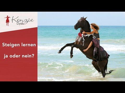 Kenzie Dysli - Deinem Pferd das Steigen beibringen - ja oder nein?