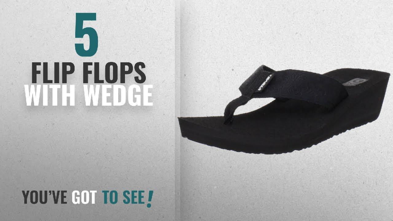 2c9ec8163c Top 5 Flip Flops With Wedge [2018]: Teva Women's Mush Mandalyn Flip ...