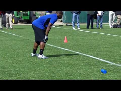 Jonathan Dwyer Pro Day Workout