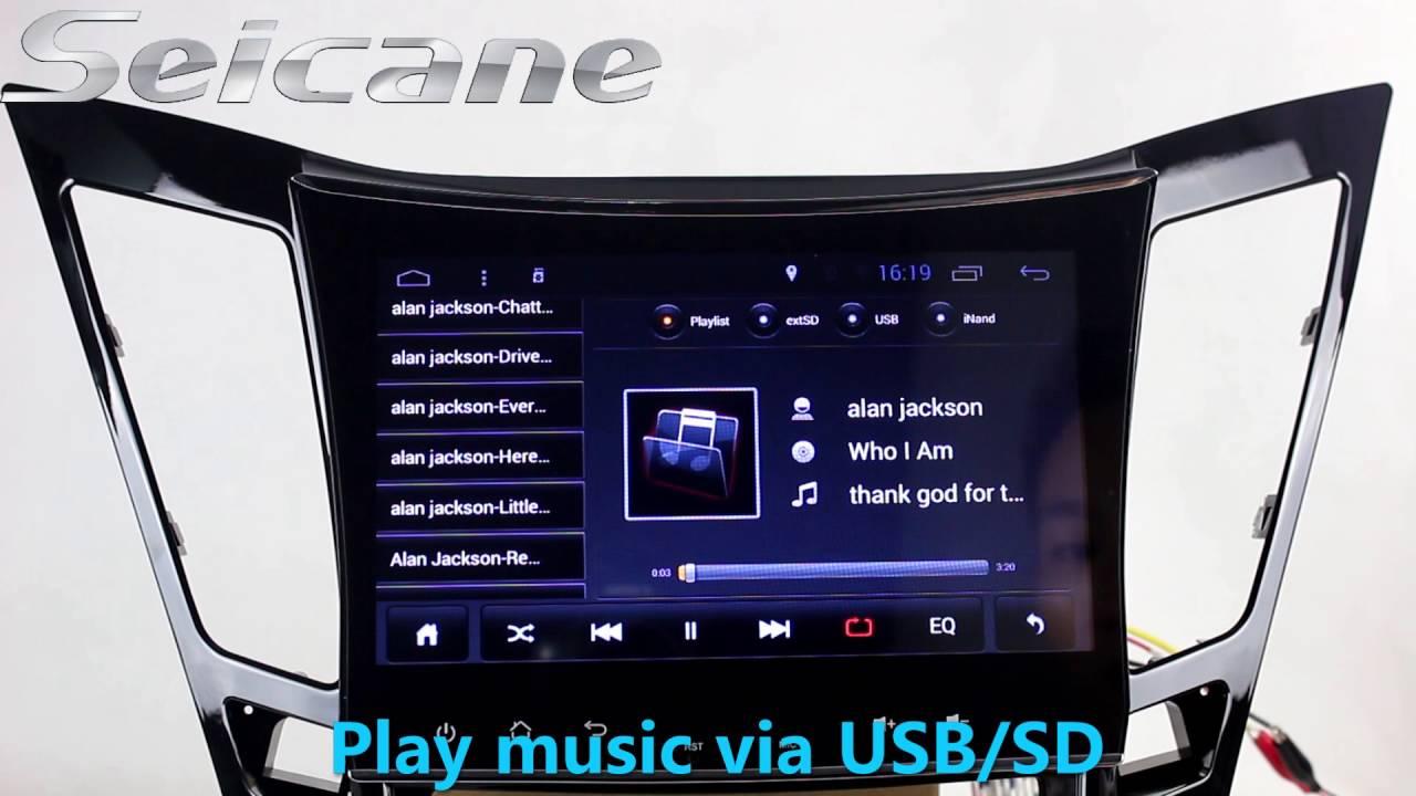 Aftermarket 2011 2012 2013 Hyundai Sonata Android 4 4 Dvd