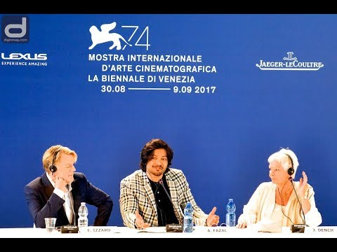 Venice Film Festival 2017: VICTORIA & ABDUL Press Conference | Judi Dench and Ali Fazal