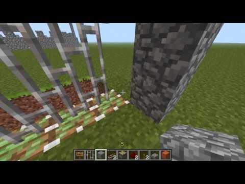Cancelletto Minecraft : Minecraft il mondo di alek ep come costruire un cancello
