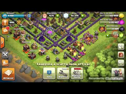 Vendo account Clash of Clans