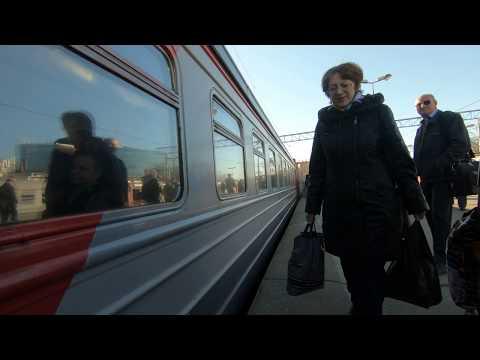 ЭД4М-0325, маршрут: Москва - Владимир / Train ED4M-0325, Route: Moscow - Vladimir