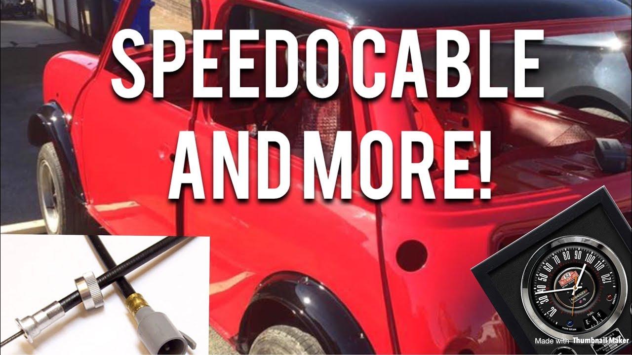 Classic Mini Restoration Speedo Cable And More Youtube 1977 Triumph Spitfire Wiring Diagram Premium