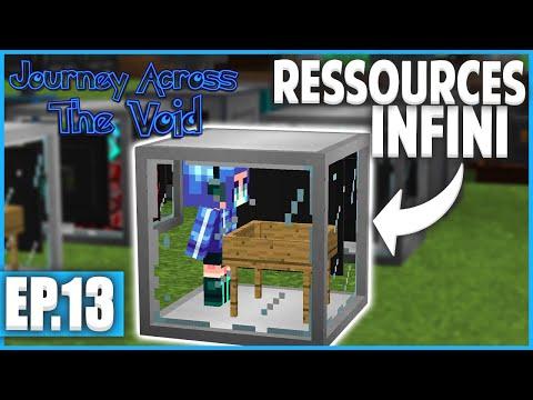 TOUT PLEIN DE RESSOURCES ! | Minecraft Moddé - Journey Across The Void | Ep# 13