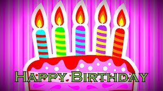 Happy Birthday to Dear One, Traditional Happy Birthday Song