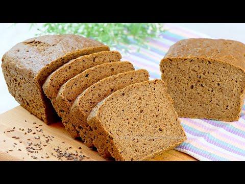 Хлеб на ржаной закваске с солодом в духовке в домашних условиях