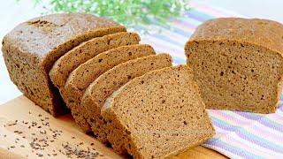 Хлеб пшенично ржаной с солодом Рецепт вкусного домашнего ржаного хлеба в духовке