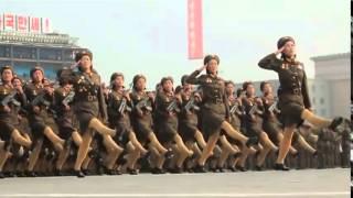 North Korea's Military Parade mv remix