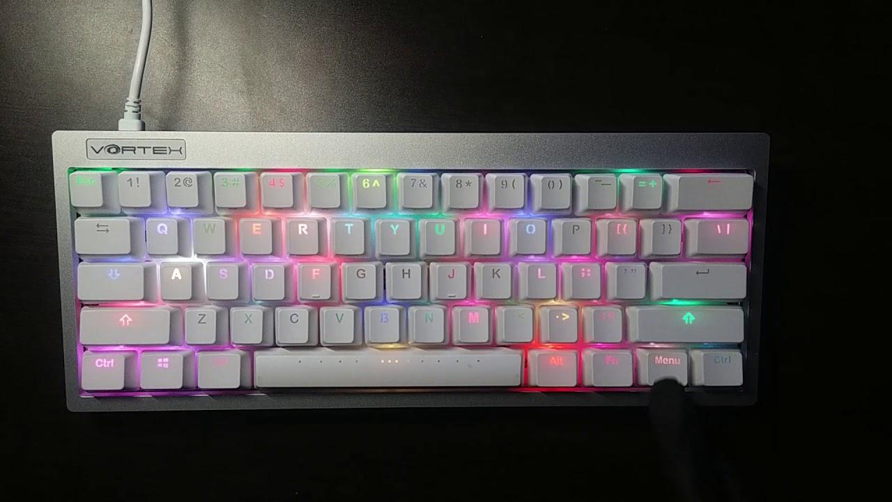 0b14fc0e632 vortex poke3r RGB test - YouTube