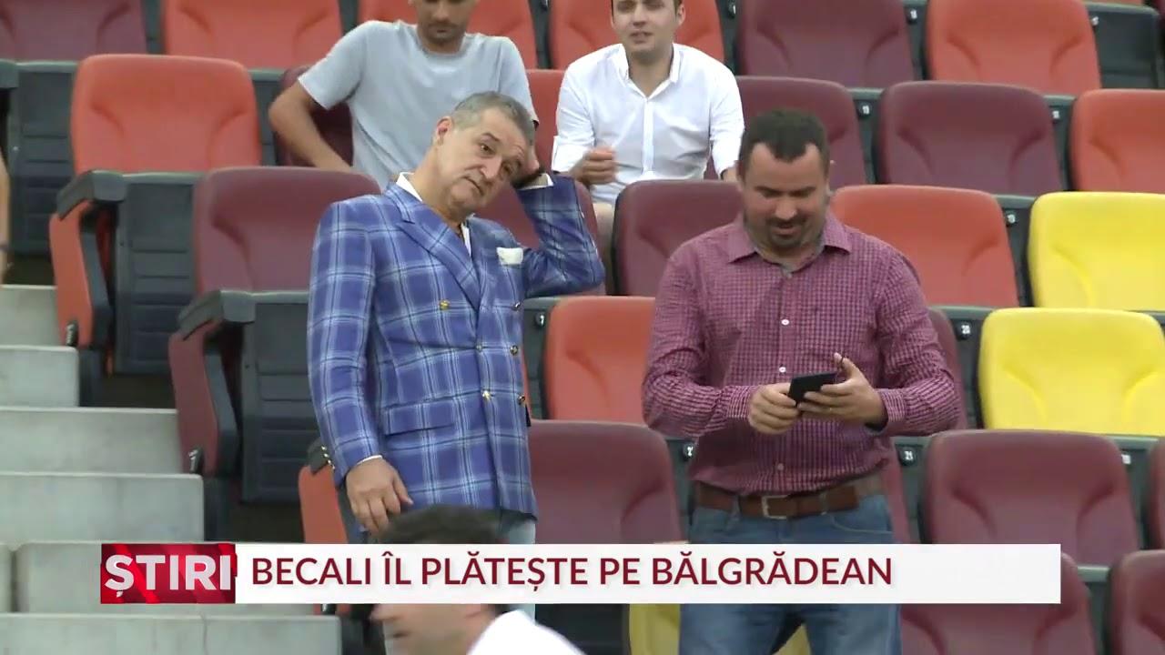 Gigi Becali, bun de plată. Bălgrădean a câştigat procesul cu FCSB