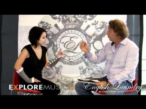 Alan Cross chats with Emm Gryner at ExploreMusic