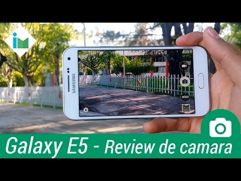 Samsung Galaxy E5 - Review de cámara