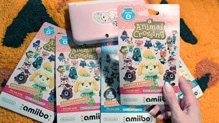 Animal Crossing Card Opening & Happy Home Designer Letsplay! (ASMR whispering/packaging/cards)