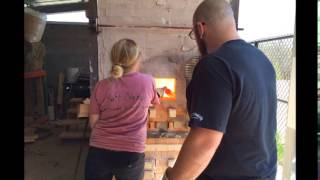 Video of still photographs from the IUS wood kiln