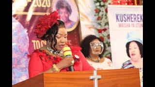 Dr  Rose Rwakatare atoboa siri za hayati mama yake Bishop Dr  Gertrude Rwakatare atoa machozi