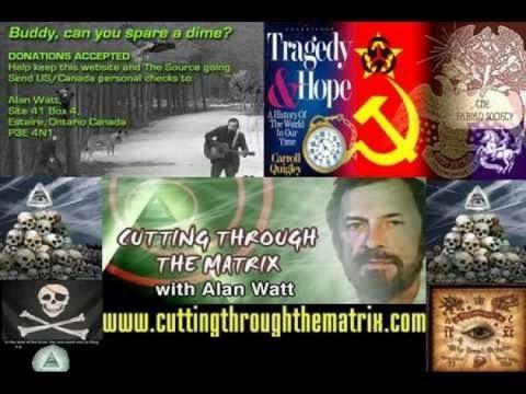 "Alan Watt Blurb 08 June 2007 ""Masters of Money, Mayhem and Mass Manipulation in All Ages"""