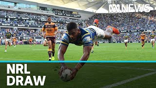 NRL reveals games for rounds three and four as league approaches restart