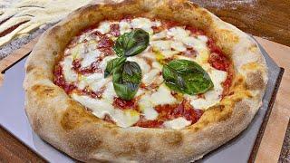 Pizza napoletana fatta in casa 🍕 ( senza impastare)