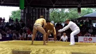 BUL Stiliyan vs JPN Sumo World Championships 2015