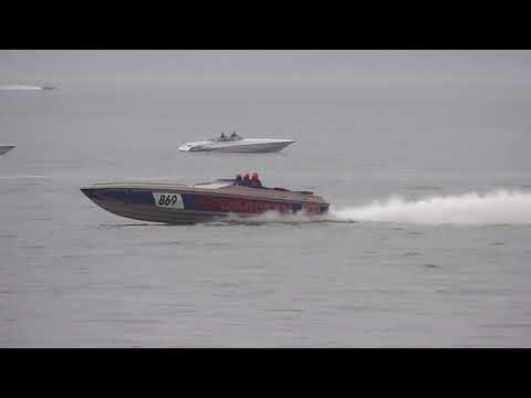 Fortitudo Poole Bay 100 offshore powerboat race 2018