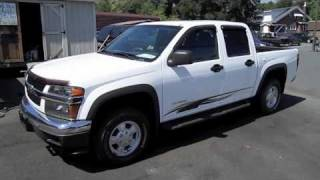 2005 Chevrolet Colorado Crew Cab 4X4 Start Up, Engine, and In Depth Tour