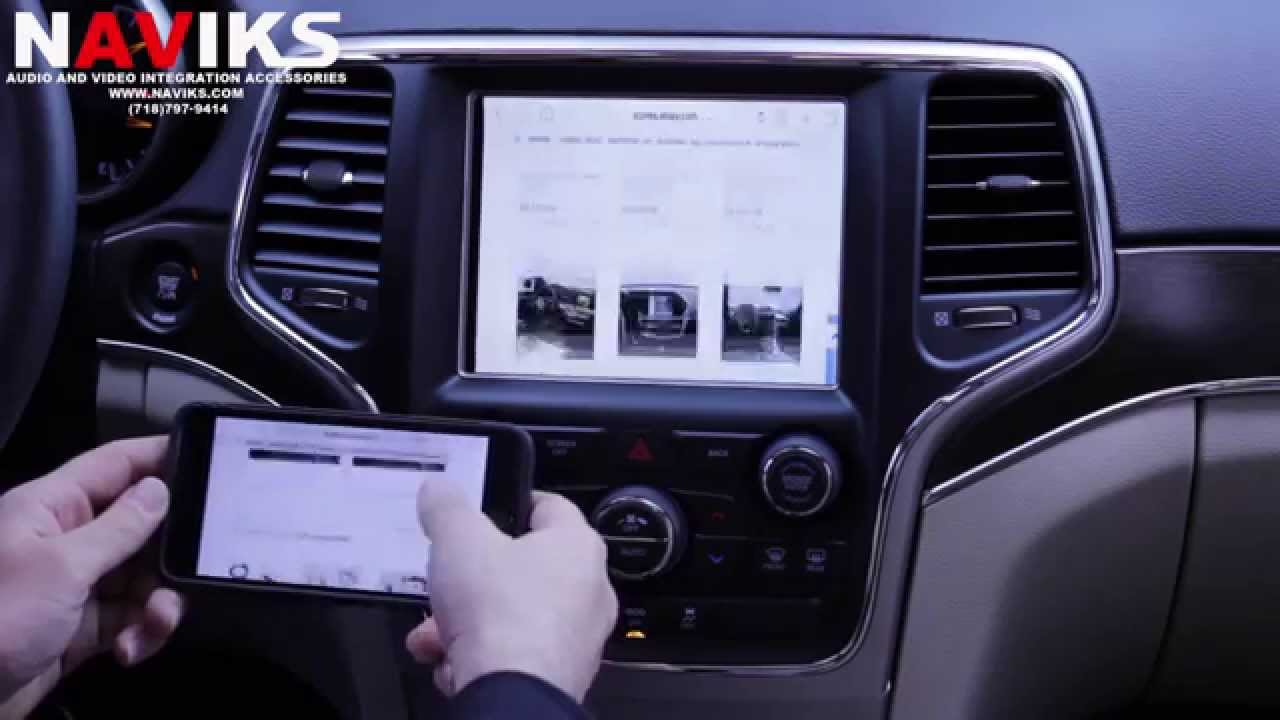 2014 Jeep Grand Cherokee Uconnect 8 4 Quot Ra3 Ra4 Naviks
