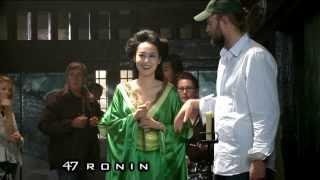 Detrás de cámaras 47 Ronin: La Leyenda del Samurai