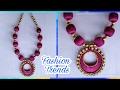 DIY Silk Thread Necklace | Bridal Silk Thread Jewelry