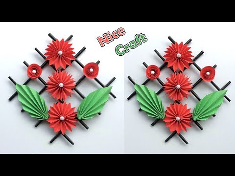 DIY wall decor paper crafts | Best craft idea | DIY arts and crafts | Cool idea you should know