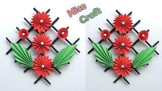 DIY wall decor paper crafts | Best craft idea | DIY arts and crafts | Cool idea you should know