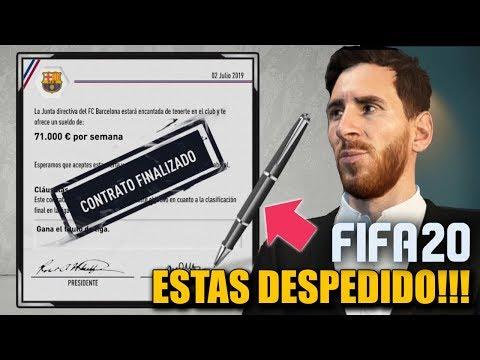 5 MANERAS DE SER DESPEDIDO EN MODO CARRERA - FIFA 20