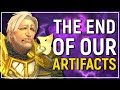 Our Largest Mistake EVER...? The End of Our Artifacts in 7.3.5 Could Doom Azeroth