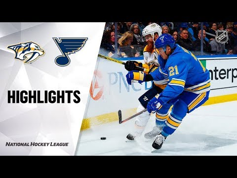 NHL Highlights | Predators @ Blues 11/23/19