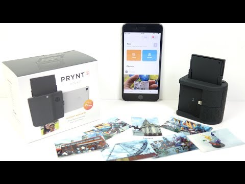 Prynt Pocket iPhone Zink Printer REVIEW