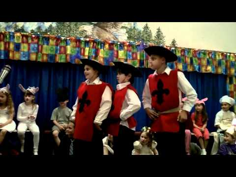 Three of a kind finale (Grace Lutheran School- Portland, OR)