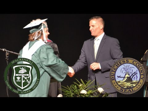 """""""Become a 'You' Worth Listening to"""" - Spackenkill High School Commencement"""