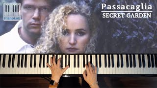 Passacaglia Secret Garden Piano Cover