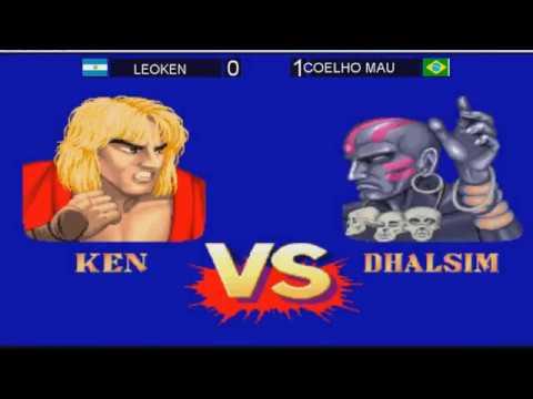 Street Fighter II: Champion Edition TORNEO 2017 Santa Cruz FINAL