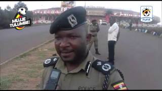 SECURITY TIGHT, UGANDA CRANES VS BURKINA FASO