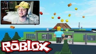 Roblox / Natural Disaster Survival / That House Fell on my FACE / Chad Alan Plays
